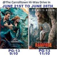 Carrolltown Hi-way Drive In Theater