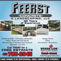 Feerst Concrete and Landscaping, LLC