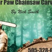 bear paw chainsaw carving