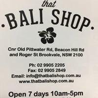 That Bali Shop