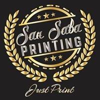San Saba Printing