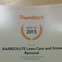 Aaabsolute Lawn Care And Snow Removal