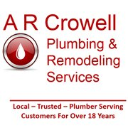 A R Crowell Plumbing & Remodeling Laurel, Columbia, Savage MD
