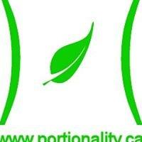 Portionality
