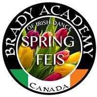 Brady Academy Spring Feis