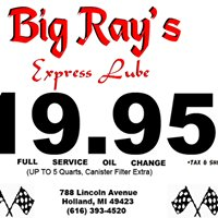 BIG RAY's Express Lube -Holland