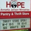 Project Hope Thrift Store / Annetta Jansen Ministries