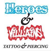 Heroes & Villains Tattoo & Piercing