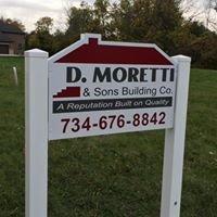 D. Moretti & Sons Building Company