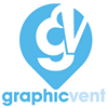 GraphicVent design for print and web