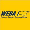 WEBA Fahnen . Banner . Sonnenschirme