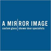 A Mirror Image  Shower Door & Mirror