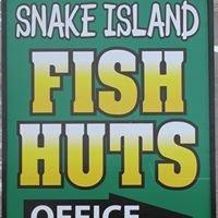 Snake Island Fish Huts