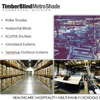 Timber Blind Metro Shade: Commercial Division