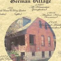 German Village House Histories