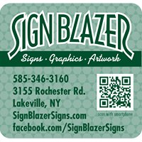 Sign Blazer Signs, Graphics & Artwork