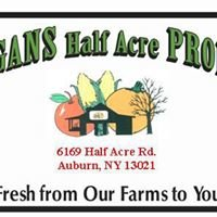 Morgan's Half Acre Produce