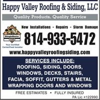 Happy Valley Roofing & Siding, LLC