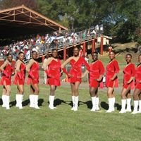 Marching Crimson Pipers TWIRLING DIVAS