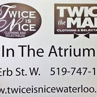 Twice is Nice Twice the Man Clothing & Selectables
