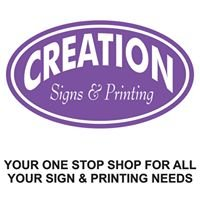Creation Signs & Printing