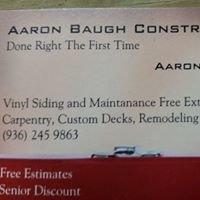 Aaron Baugh Construction