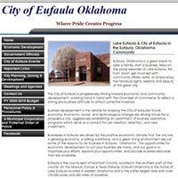 City of Eufaula Oklahoma