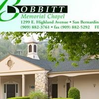 Bobbitt Memorial Chapel