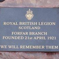Royal British Legion Scotland - Forfar Branch