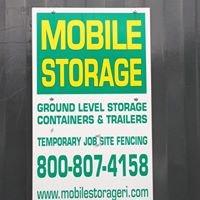 Mobile Storage Inc