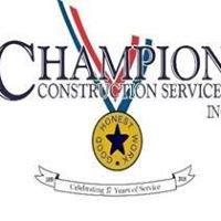 Champion Construction Services, Inc.