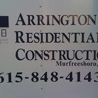 Arrington Residential Construction, INC.