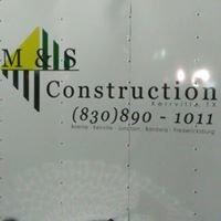 M & S Construction