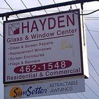 Hayden glass and window
