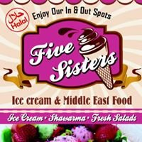 Five sisters ice cream &middle east food