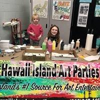 Hawaii Island Art Parties