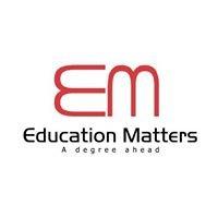 Education Matters.