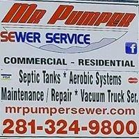 Mr. Pumper Sewer Service