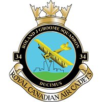 34 Roland J Groome Royal Canadian Air Cadets