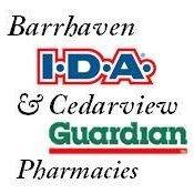 Barrhaven IDA  & Cedarview Guardian Pharmacies
