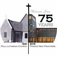 St. Paul Lutheran Church, Winterset