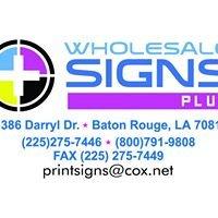 Wholesale Signs Plus