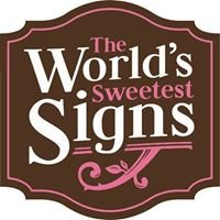 The World's Sweetest Signs and Laser Engraved Creations