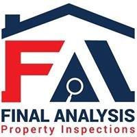 Final Analysis Property Inspections LLC