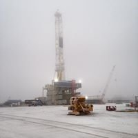 Nabors Drilling Rockwell Yard
