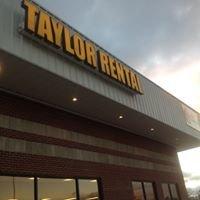 Taylor Rental of Hattiesburg, MS