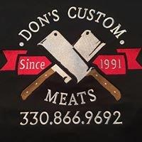Don's Custom Meats