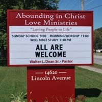 Abounding in Christ Love Ministries (AICLM)