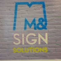 M&M Sign Solutions