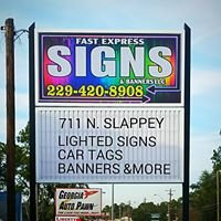 Fast Express Signs
